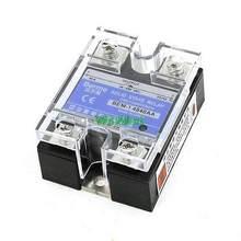 AC para AC Transparente Capa Monofásico Relé de Estado Sólido 40A 24-480 V 80-250 V