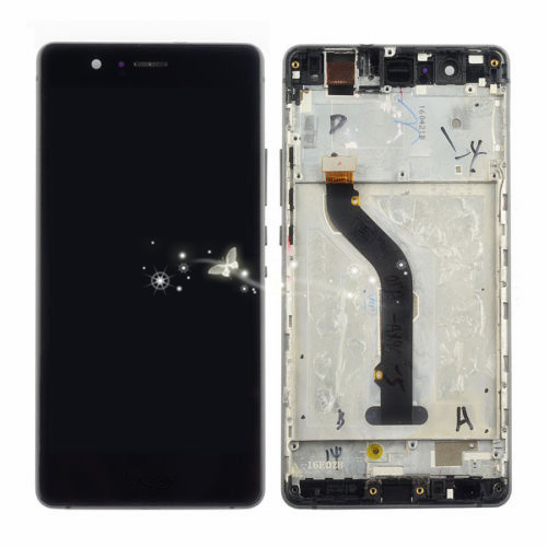 ФОТО A New LCD Display Touch Screen Assembly Repair Part with frame For Huawei P9 lite/G9 lite Free Shipping
