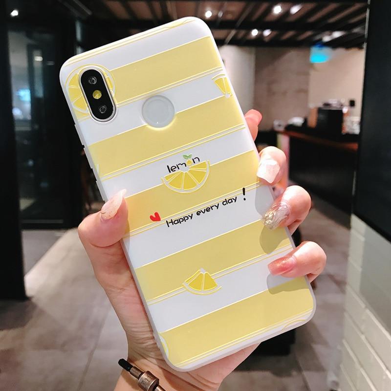 Cute Transparent Soft Case Xiaomi mi 8 mi8 Funda 3D Relief Case Luxury Silicone TPU Matte Full Cover Xiaomi mi8 mi 8