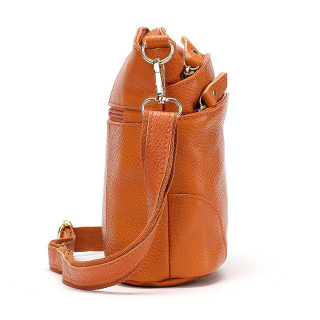Guarantee Natural Cowskin Women Shoulder Bag