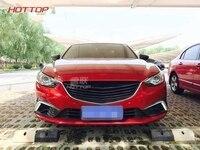Углерода передний гонки гриль подходит для MAZDA 6 ATENZA 2013 2014 2015 Тюнинг автомобилей аксессуары