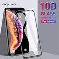 Eqvvol 10D Защитное стекло для iPhone 6 6S 7 8 plus защита экрана закаленное стекло для iPhone X XR XS MAX 9 8 Защита экрана - фото