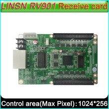 Controlador de pantalla LED a todo color, Tarjeta receptora LINSN RV901, interfaz Universal adecuado para todo tipo de placa HUB