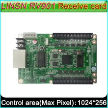Contrôleur d'écran d'affichage LED polychrome, carte de réception LINSN RV901, interface universelle adaptée à tous les types de carte HUB