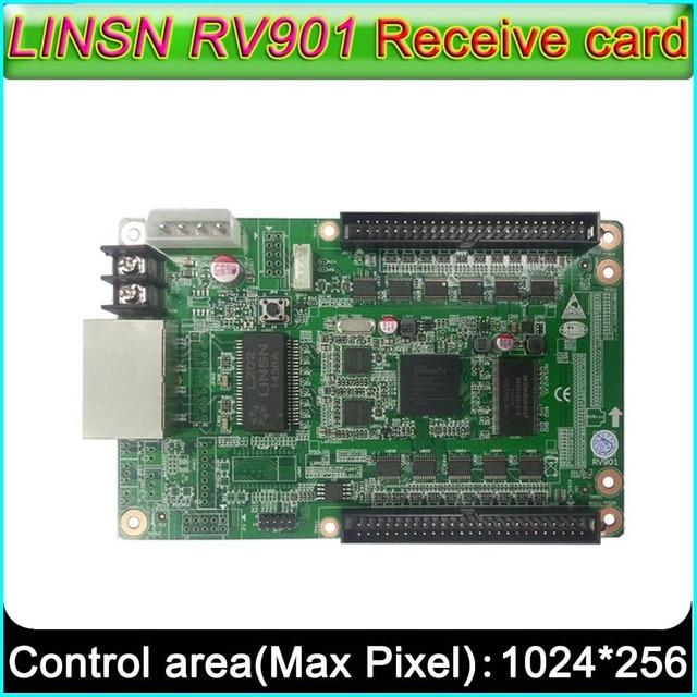 Full color LED scherm controller, LINSN RV901 Ontvangende kaart, universele interface geschikt voor allerlei HUB board