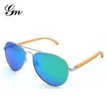 G M Sunglasses  Women Brand Design Mirror Sun Glasses  Wood Sunglasses