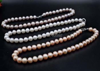 4b3885ff8059 AAAAA perlas de agua dulce de patata cultivadas blanco Natural 10 ...