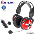 Best Professional Over Ear Computer PC Game Gaming 2.4GHz Wifi RF Wireless USB Headphone Head Phones Headset with Microphone