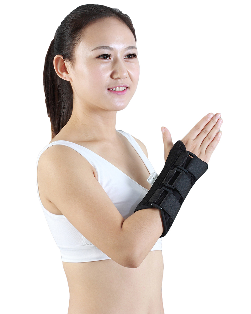 Medical Metal Wrist Support Brace Splint Wrap Guard Stabilizer Saver Protector
