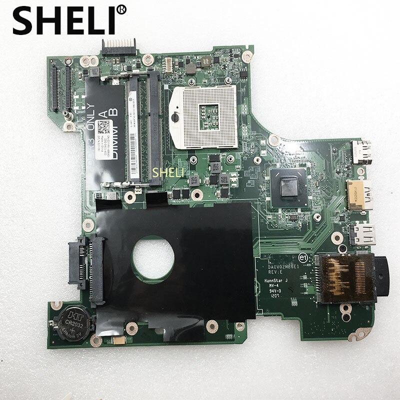 SHELI FOR DELL Laptop Motherboard Vostro 3450 V3450 PC Mainboard CN-0JYYRY 0JYYRY DA0V02MB6E0 Tesed DDR3