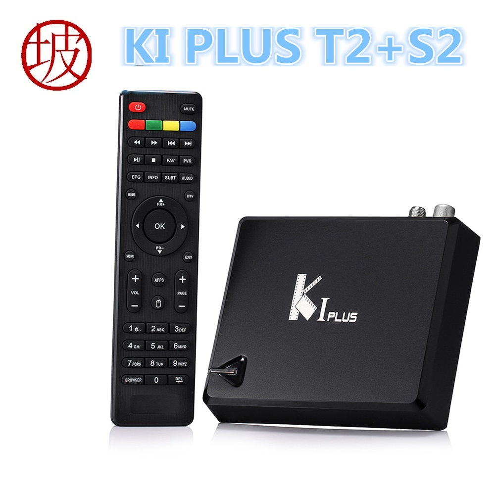 KI PLUS +T2 S2 Amlogic S905D Quad core 64-bit Support DVB-T2 DVB-S2 1G/8G 1080p 4K Android 5.1 K1 plus DVB TV Box литой диск replica ki 9 6x15 4x100 d54 1 et48 s