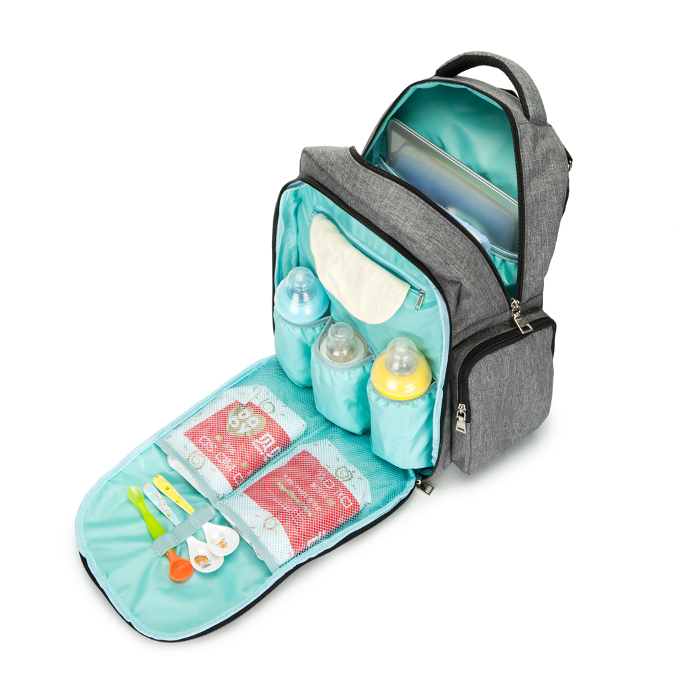 Nylon Zipper Backpack Bag for young mother zipit рюкзак zipper backpack