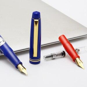 Image 5 - Pilot 78G Fountain Pens 22k Golden Original Iridium Fountain Pen With Converter for Writing Calligraphy EF F M B Nib Small Gift