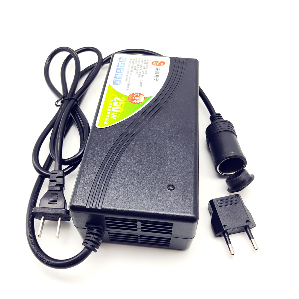 250 W convertisseur de puissance Ac 110 V 220 V 240 V entrée Dc 12 V 20A adaptateur de sortie voiture alimentation allume-cigare prise