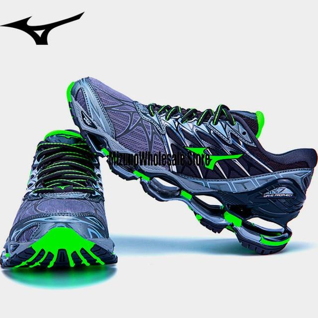 Tenis Mizuno Wave Profecia 7 Homens Originais Sapatos De Amortecimento De Ar para Levantamento de Peso Dos Homens Sapatos Sneakers Esportes Alta Qualidade Estável