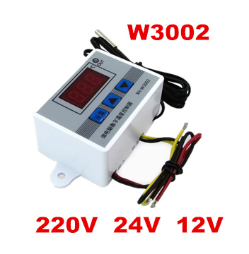 10pcs Thermometer Control W3002 Digital Temperature Controller 10A Thermostat Switch with Probe sensor 40% off  цены
