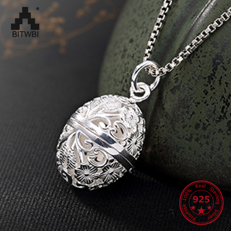 S925 Sterling Sliver Fashion Hollow Plum Pendant with Various Styles for Women Personality Can Open Necklace Pendant NecklaceS925 Sterling Sliver Fashion Hollow Plum Pendant with Various Styles for Women Personality Can Open Necklace Pendant Necklace