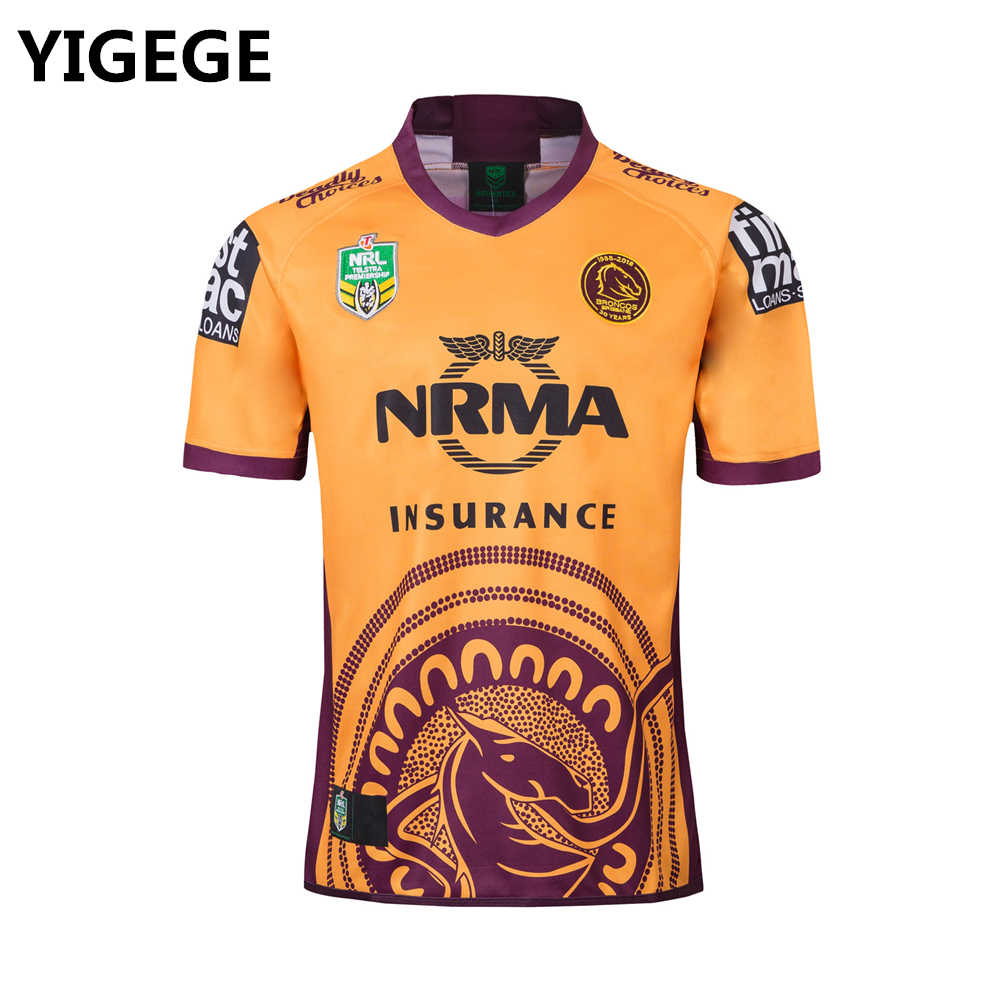 a426aa69a23 Detail Feedback Questions about nrl jersey 2018 brisbane broncos home away  INDIGENOUS rugby Jerseys shirts NRL National Rugby League rugby shirt s 3xl  on ...
