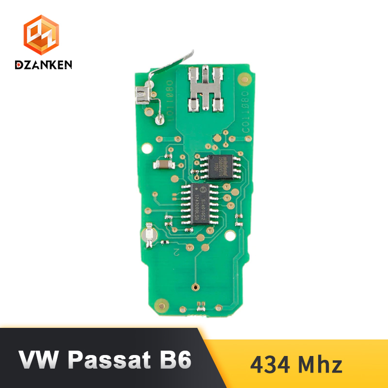 Image 5 - Dzanken 3 Botons Remoto Car Key for VW Passat B6 3C B7 Magotan CC& Transponder Chip& Uncut Blade-in Car Key from Automobiles & Motorcycles