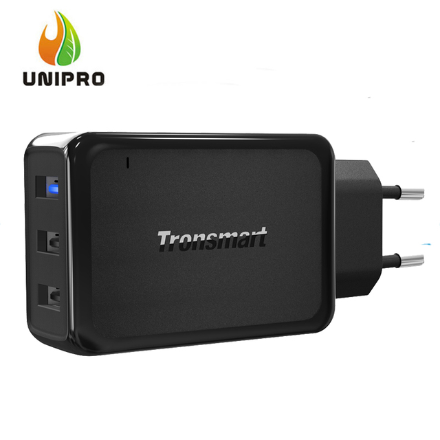 In Stock!Tronsmart Quick Charge 3.0 W3PTA Wall Charger 42W 2 VoltIQ Ports 1 Quick Charge Port Compatible With Quick Charge2.0