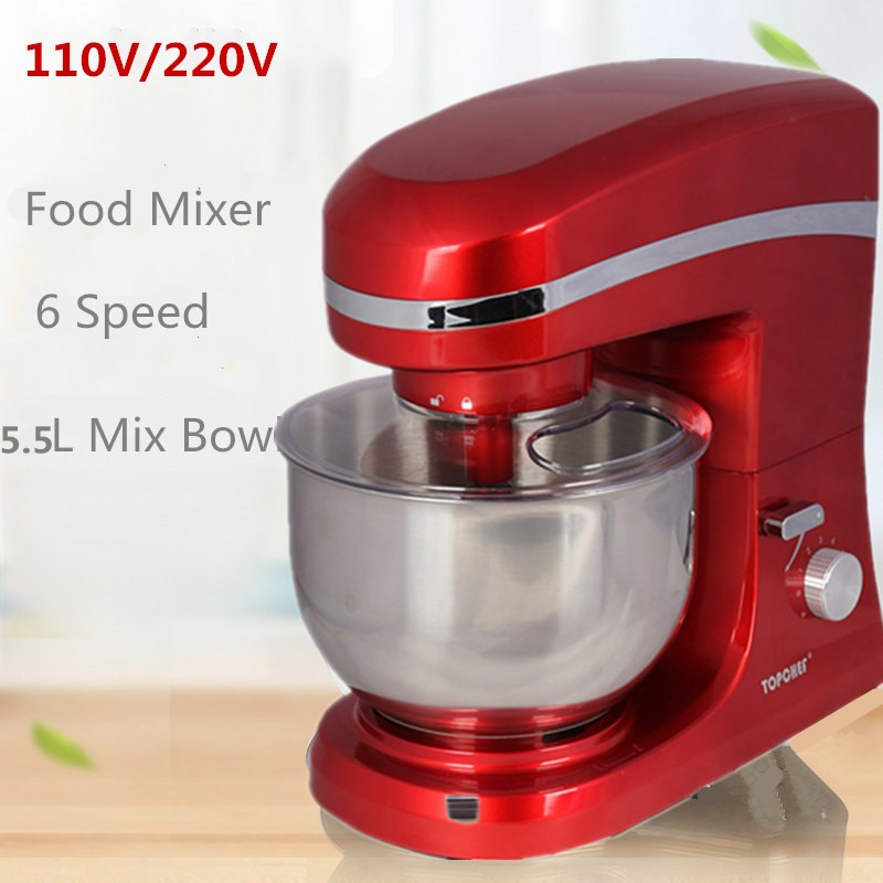 New Design 1000w 5l 6 Speed Kitchen Electric Food Stand