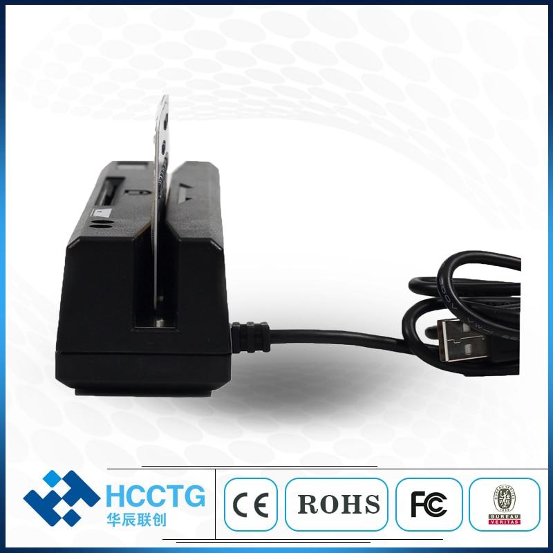 Lecteur de carte Rfid magnétique USB tout en un 1/2/3 pour puce MSR & IC et carte Psam HCC-110 - 3