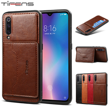 Luxury CC9 E Note8 Leather Card Stand Back Cover Case For Xi