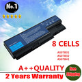 WHOLESALE  New 8 cells laptop battery for Acer AS07B31 AS07B32 AS07B41 AS07B42 AS07B51 AS07B52 AS07B71 AS07B72 Free shipping
