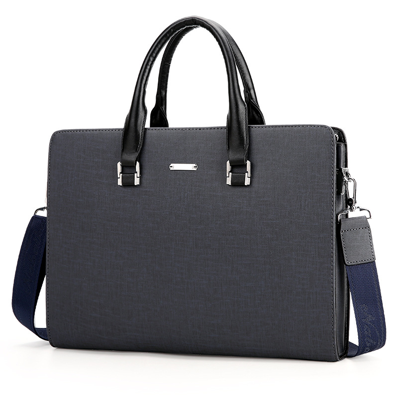 Fashion Vintage Designer Men's Shoulder Bag Briefcase Bag For Male Crossbody Bags Laptop Handbag High Quality Business Bag