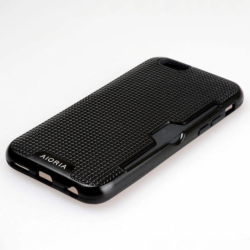 AIORIA Stötsäkert fodral för iPhone 6 6S kreditkortsfackdesign - Reservdelar och tillbehör för mobiltelefoner - Foto 3