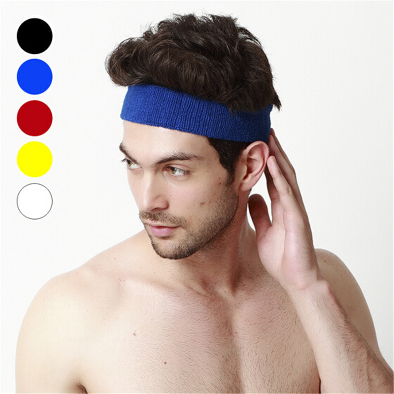 Fashion Women Men Sports Headband Hairband Stretchy Sweatbands Gym Hair  Head Band For Ladies Gift-in Accessories from Mother   Kids on  Aliexpress.com ... 8df98fe39e5