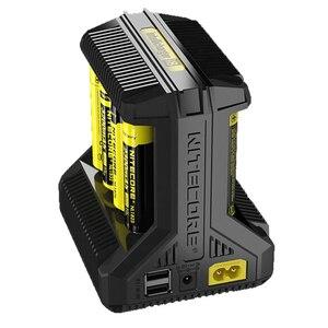 Image 5 - Интеллектуальное зарядное устройство Nitecore i8, i4, i2, 8 слотов, выход 4A, умное зарядное устройство для Li Ion 18650, 16340, 10440, AA, AAA, 14500, 26650