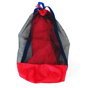 Portable Beach Bag Foldable Mesh Swimming Bag For Children Beach Toy Baskets Storage Bag Kids Outdoor Swimming Waterproof Bags 1