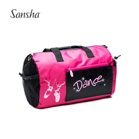 Sansha Large Women Sport Bags Girls Fitness Nylon Waterproof Bags Training Gym Bags With Shoulder Straps KBAG2/KBAG22