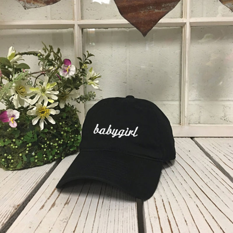 2017 new Cotton Snapback Caps   Hats For Men Women Fashion Casual Baseball  Cap babygirl Letters embroidery Sports Hat Unisex Gor-in Baseball Caps from  ... 0fa165ded75a