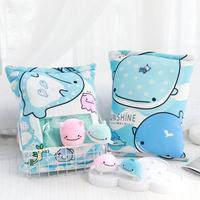 4pcs small whale plush toys in one bag life like pudding food soft pillow toys for children Xmas gift summer use present