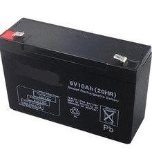 6V 10AH свинцово-кислотная Батарея VRLA аккумуляторные батареи вентильно регулируемых свинцово-кислотная батарея