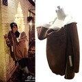 Portador de bebé Canguro Chaqueta Invierno Ropa de abrigo para las mujeres embarazadas de maternidad embarazo Engrosada lana bebé que desgasta la capa de las mujeres
