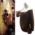 Portador de bebê Canguru Jaqueta de Inverno casaco Outerwear maternidade para as mulheres grávidas gravidez Engrossado bebê vestindo casaco de lã das mulheres