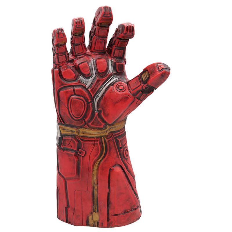 Avengers chauds 4 Iron Man gant costume thanos infini gantelet gants Avengers super-héros Hulk accessoire IronMan LED Latx masques adulte