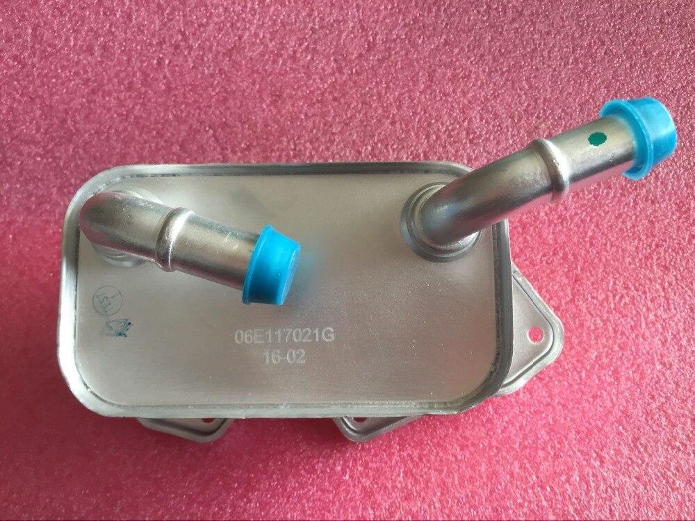 ФОТО  for Volkswagen VW AUDI  a6l c6 bora engine aluminum oil cooler  06E 117 021G  06E117021G