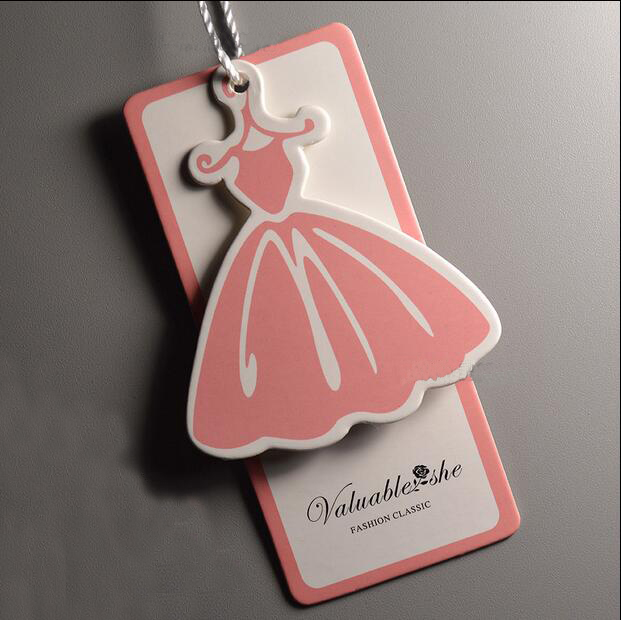 In stock Customized Hang Tags/hangtag/Trademark manufacture/Clothing paper sewing tag/printed tags Free Shipping