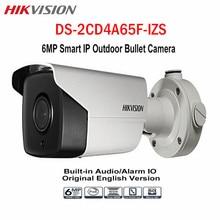 Hikvision CCTV 6MP Bullet IP POE Camera DS-2CD4A65F-IZS WDR Onvif 2.8-12mm Zoom 50M IR IP67 SD Card Outdoor Surveillance Camera
