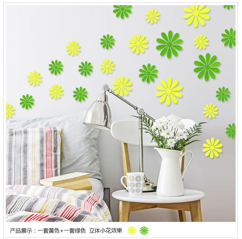 Birthday Decoration 3D Snowflake Butterfly Dragonfly DIY Wall Stickers DIY  Home Decoration TV Wall Decals Home Deoration In Wall Stickers From Home U0026  Garden ...