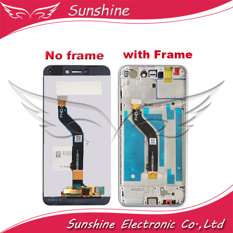 Tested LCD <font><b>Display</b></font> For <font><b>Huawei</b></font> P8 Lite 2017 / <font><b>Huawei</b></font> P9 lite 2017 / <font><b>Honor</b></font> <font><b>8</b></font> Lite LCD Screen with Touch Sensor Complete Assembly image
