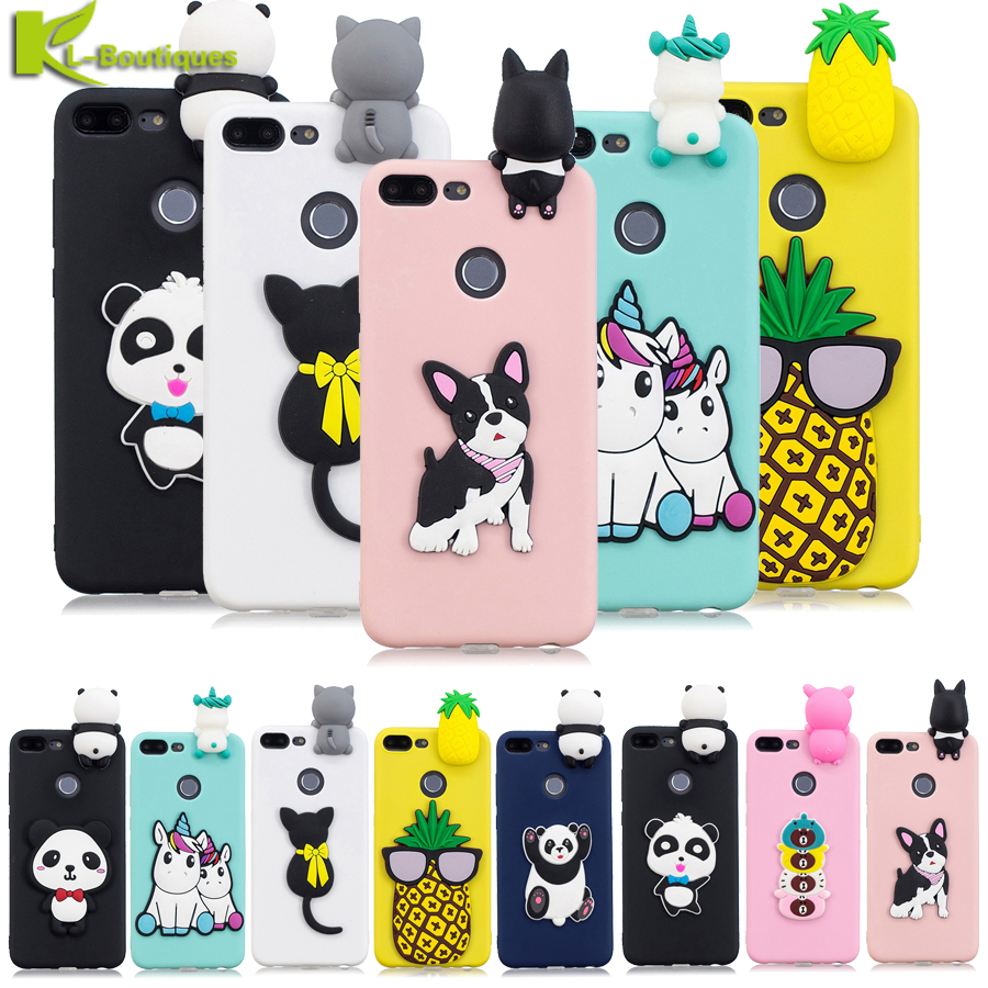 b7277617f49 Honor 9 Lite Case on for Huawei Honor 9 Lite honor9 lite Case Cover Coque  Unicorn Panda Cute Soft TPU Silicone Back Cover Fundas