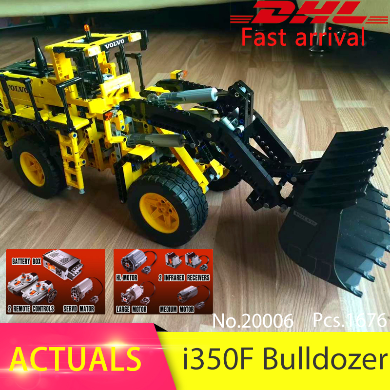 LEPIN 20006 1676pcs Technic series Motor i350F wheel Model Building Blocks Bricks Toys For Children Compatible 42030 Boys Gift lepin 01045 1676pcs girls series heartlake grand hotel set children eucational building blocks bricks toys model gift 41101