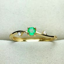shilovem 925 sterling silver Natural Emerald Ring fine Jewelry Customizable women trendy round new  open wholesale lj030302agml shilovem 925 sterling silver natural emerald ring fine jewelry customizable women trendy wedding open wholesale tfj030301agml