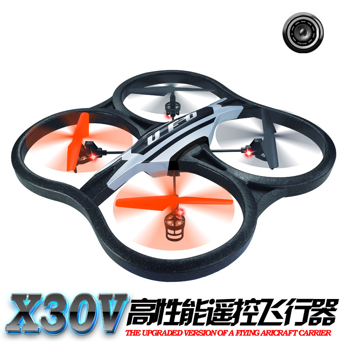 new arrival Hot sell RC TOYS X30V Large Scale 2.4G 6CH RC Quadcopter with HD Camera and Gyro for kids&adult as festival gift hot sell brand new for g skill ddr3 1600 8g 2 ram for desktop computer overclocking f3 12800cl10d 16gbxl