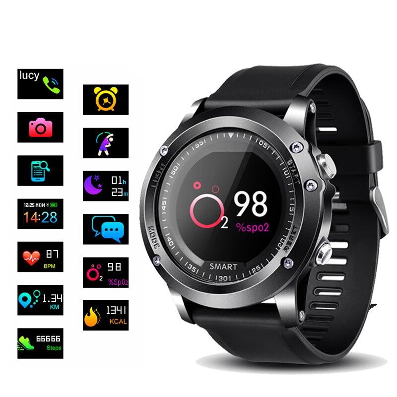 T2 Smart watch IP68 Waterproof Fitness Tracker Heart Rate Blood Pressure oxygen monitor Outdoor Sport Bluetooth Smartwatch умные часы smart watch y1